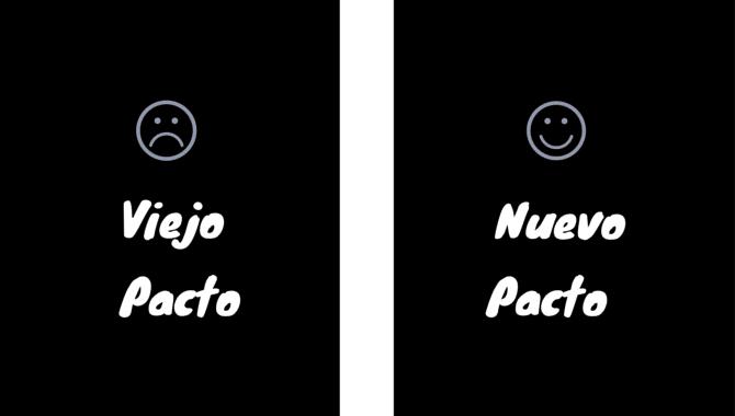 viejo pactop - nuevo pacto