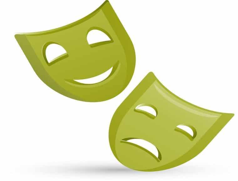mascaras teatro griego